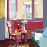 「窓と椅子」 M20・2016年