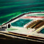 「8月の風景」F100・油彩・2017年
