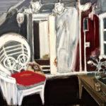 「女王の椅子」F100・油彩・2017年