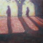 土井久幸「光の旋律」クレパス
