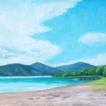 入江観 湖上遊雲 M10